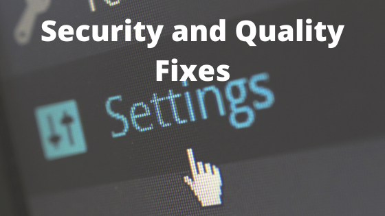 Fix - Your Device Is Missing Important Security and Quality Fixes