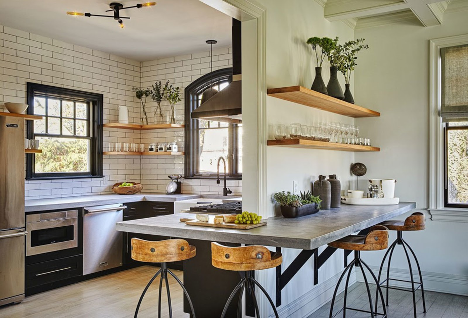 Best Ideas for a Rustic Danish Kitchen with Cool Industrial Touches
