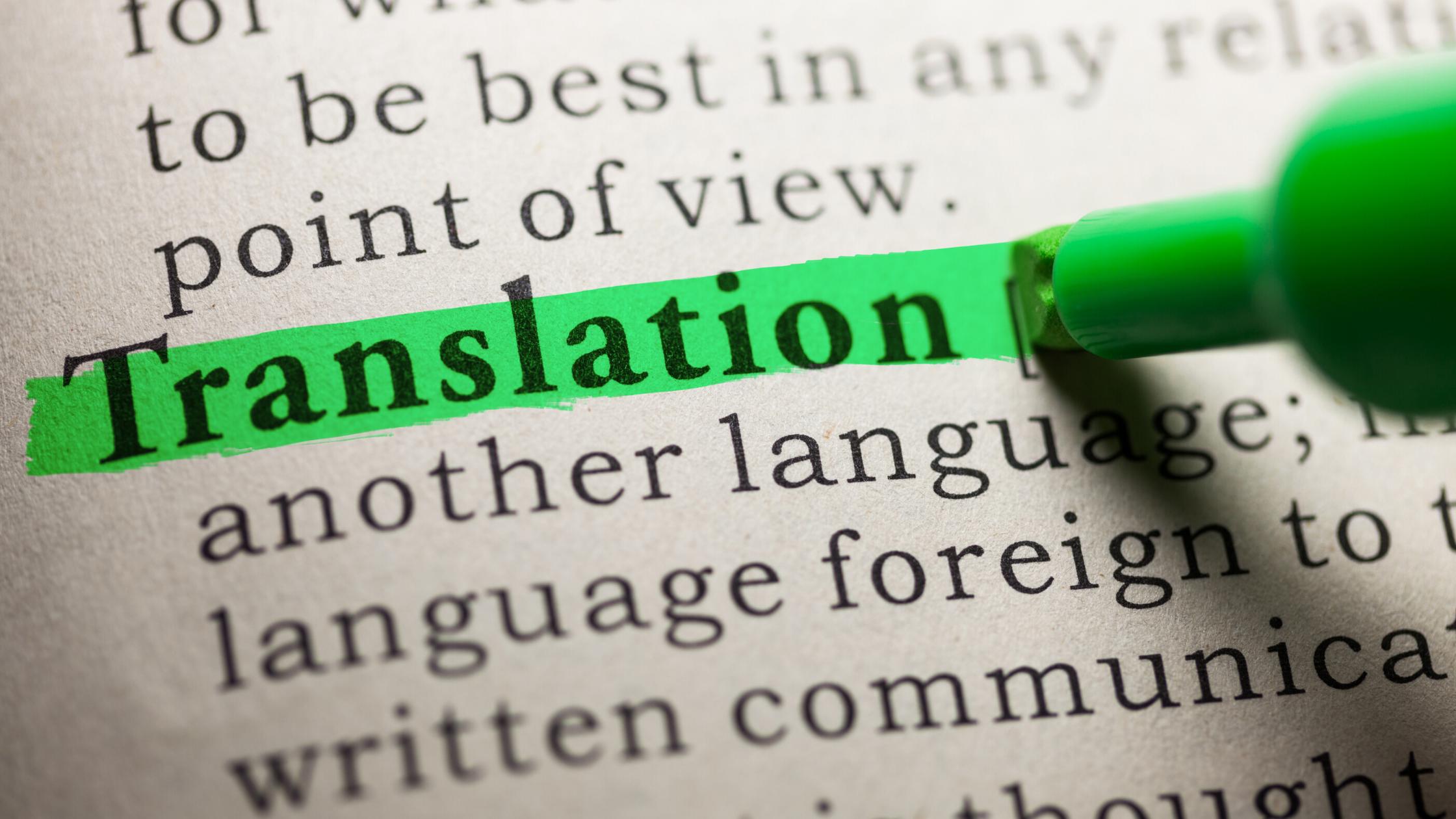 Benefits Of Hiring A Human Translator
