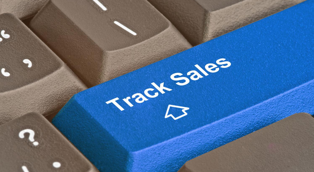 How do you easily track a salesperson through the use of an application?